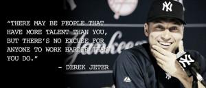 Derek Jeter's Reverence for Routines