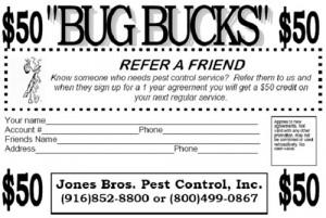 pest control referral credit