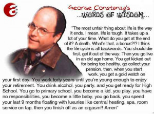 description only a funny saying with george costanza in this seinfeld ...