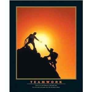 Poster Print Motivational Teamwork Artist: Motivational Poster