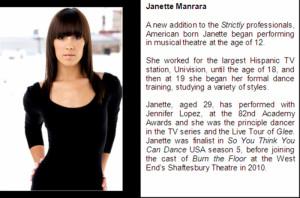 Professional Dancers Offer