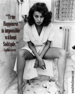 Sophia Loren Wisdom (Part Three)