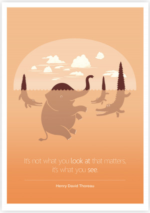 Clever Illustrations Portrayed With Famous Quotes
