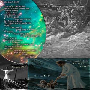 Jesus Calms The Storm Armahda