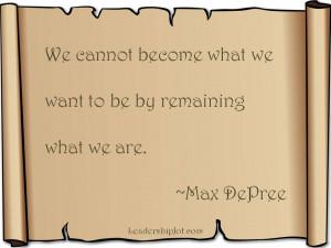 Max De $Pree Quotes