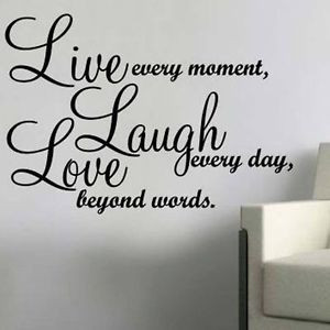 Live Laugh Love Wall Quote...