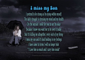 Quotes and Poems | ... shared Death of a Loved one; Quotes, Poems ...
