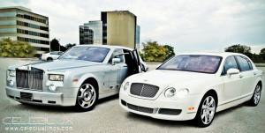 His and Hers Wedding Vehicles