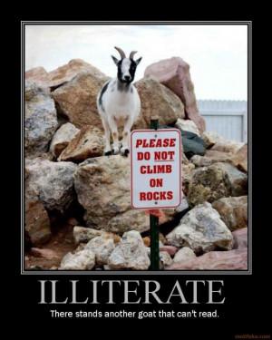 illiterate goat goat wtf funny