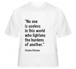 Quote T-Shirt, CHARLES DICKENS #AlstyleApparel #BasicTee, Oliver Twist ...
