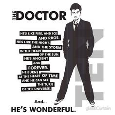 Oh, how I miss the 10th Doctor. xoxo More