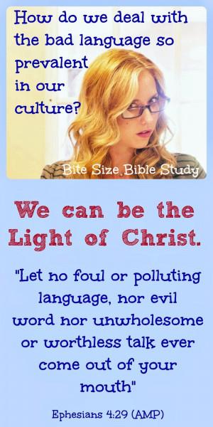 philippians 2 14 15 cussing cursing profanity bad language bible ...