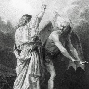 Satan Tempts Jesus in the Wilderness. Getty Images
