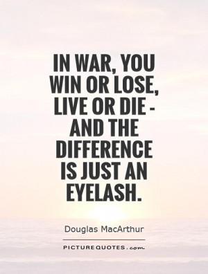 War Quotes Douglas MacArthur Quotes
