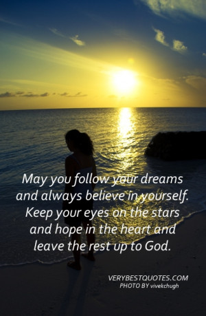 Morning wishes to start your day May you follow your dreams and always ...