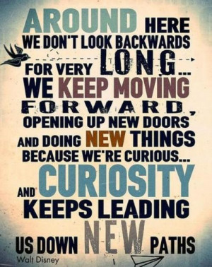 long... we keep moving forward, opening up new doors and doing new ...