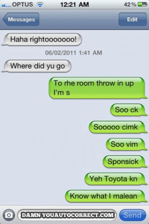 funny auto-correct texts - 15 O'Tocorrects For St. Patrick's Day!