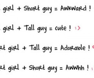 Again, short girls should avoid dating shorty guys if they don't want ...