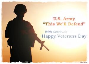 Veterans Day Army Postcard Veteran U Ecard American 14