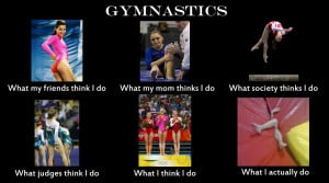 Funny Gymnastics Quotes and Sayings