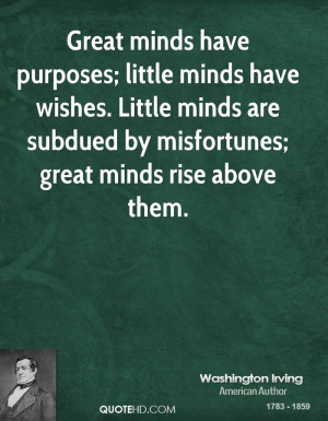 Great Minds Quotes