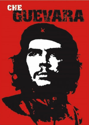 Poster: Che Guevara Red by Jim Fitzpatrick (via Wikipedia ). Based on ...