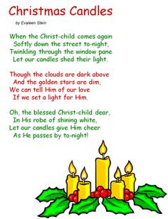 Christmas poems, songs and quotes