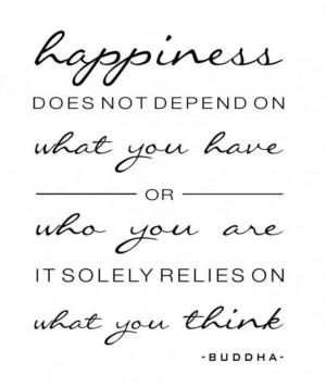 Happiness - Buddha