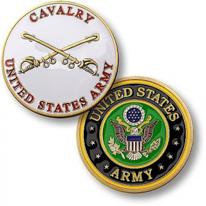 Home › Challenge Coins › U.S. Army Cavalry Coin