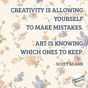 Creativity quotes, deep, best, sayings, scott adams