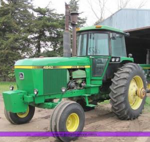 JPG - 1980 John Deere 4840 tractor , 6055 hours on meter , John Deere ...