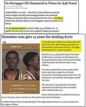 funny rich people vs poor people jail sentence