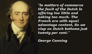 George canning famous quotes 1