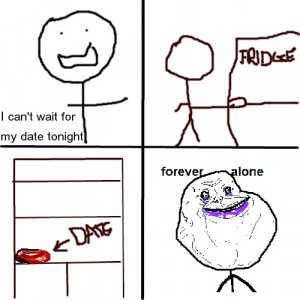 Sad Forever Alone Quotes Forever alone. sad. but true.