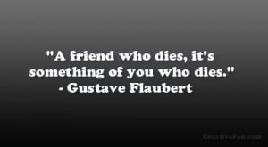dead friend quotes