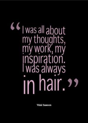 Vidal Sassoon Quotes Inspirational