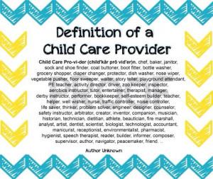 Definition of a child care provider: Kids Preschool, Dreams Childcare ...