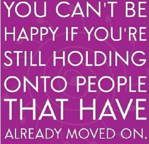 let go and be # happy