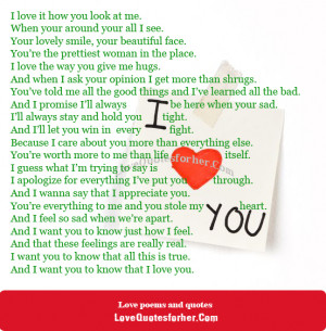 ... http://www.lovequotesforher.com/romantic-love-poems-for-her-from-him
