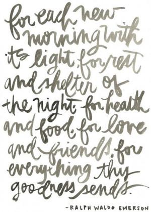 Friday night grateful moment