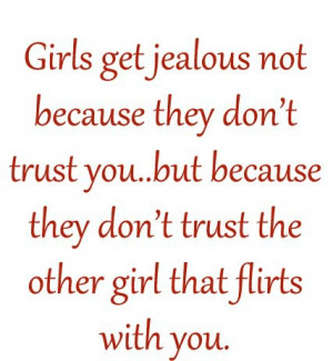 Quotes For Jealous Girls...