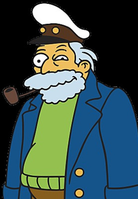 Sea Captain From Simpsons