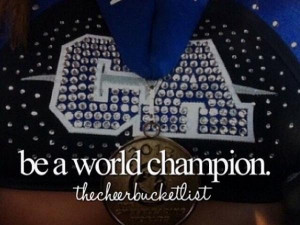 Cheerleading quotes, inspiring, motivational, sayings, champion