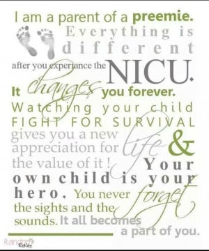 Premature Babies Beyond #preemie #nicu #neonatal. I have 3 preemie ...