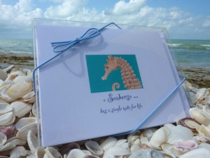 Seahorses Mate For Life Boxed 8-pack with 4 designs (2