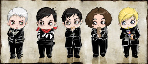cute, draw, funny, love, my chemical romance