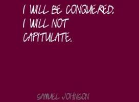 Capitulate Quotes