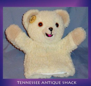 Snuggle Bear Plush Hand...