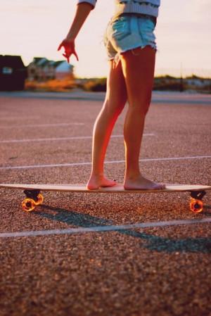 ... girl, london, long board, longboarding, love, photography, quotes