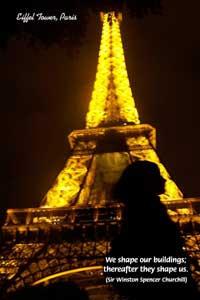 ... of the Eiffel Tower, Paris. (2005), Gustave Eiffel, (1832 - 1923